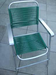 Ebay Chaise by Chaise Vintage Pliante Verte Fil Plastique Scoubidou Design Retro