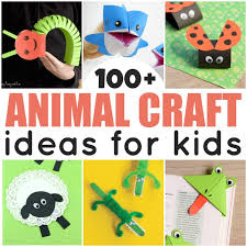 100 Animal Crafts For Kids To Make