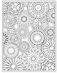 Coloring Pages Flowers Adults Image Result For Adult Abstract