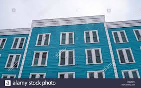 100 Sliding Exterior Walls Panorama Frame Building Exterior With Blue Wall And Vertical
