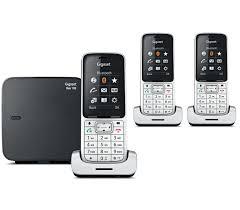 gigaset sl450 trio téléphone fixe sans fil siemens fr