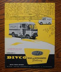 100 Divco Milk Truck For Sale DIVCO And Refrigerated Delivery Catalog C
