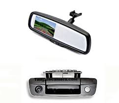 100 Backup Camera For Truck Tailgate 43 Mirror Monitor For 20092018 Dodge Ram