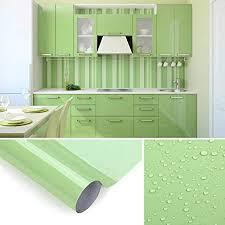 kinlo selbstklebende folie küche grün 61x500cm tapeten küche