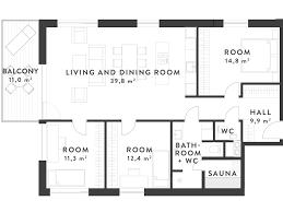Large Size Amazing 2 Bedroom Apartment Blueprints Pics Design Ideas