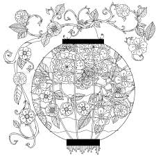 With Floral Patterns Zentangle Interpretation Black And White Vector Illustration The Best For Your Design Textiles Posters Coloring Book