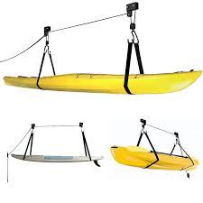 Kayak Hoist Ceiling Rack by Kayak Hoist Pulley Storage 45kg Weekend Warrior Outdoors