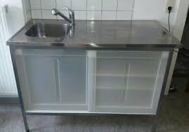 küchen unterschrank mit spüle 120 cm ikea eur 10 00