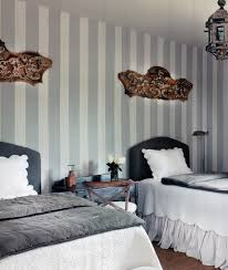 BedroomBlack And White Bedroom With French Theme Bed Cover Idea Twin Grey