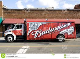 Budweiser Delivery Truck Editorial Photography. Image Of ... Budweiser Truck Stock Images 40 Photos Ubers Selfdriving Startup Otto Makes Its First Delivery Budweiser Truck And Trailer Pack V20 Fs15 Farming Simulator Truck New York City Usa Photo Royalty Free This Is For Semi Trucks And Ottos Success Vehicle Wrap Gallery Examples Hauls Across Colorado In Selfdriving Hauls Across With Just Delivered 500 Beers Now Brews Its Us Beer Using 100 Renewable Energy Clyddales Boarding The Ss Badger 1
