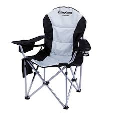 100 Oversized Padded Folding Chairs KingCamp Lumbar Support Lightweight Portable Heavy Duty