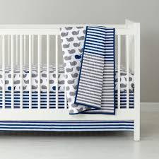 Grey Crib Bedding Set