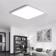 16W Square LED Ceiling Down Light Surface Mount Fixture For Living Room Bedroom Kitchen