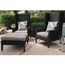 hilton 5 piece patio lounge set by leisure select
