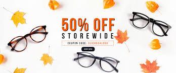 50% OFF On Prescription Eyeglasses & Sunglasses By Goggles4u ...