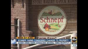 Schnepf Farms Halloween 2017 by Vandals Can U0027t Seem To Keep Out Of Schnepf Farms Owner Considers
