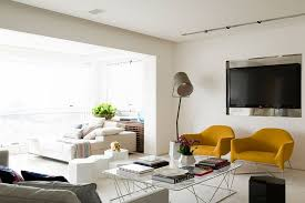 Bright Yellow Accent Chairs For Living Room