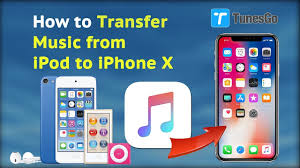 How to Transfer Music from iPod to iPhone X