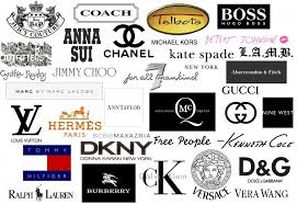 Designer Clothing Logos Fashion And Names Download