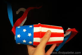 Fourth Of July Paper Cup Shakers Craft