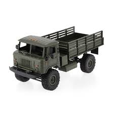 100 Rc Army Trucks Green1 WPL B24 116 RC Military Truck Rock Crawler Car Kit