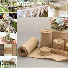 Wedding Linen Roll Decorations New Diy Manual Volume Flower Decoration Rustic Decor More Width Size