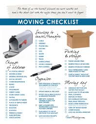 printable moving checklist change of address services to stop