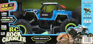 100 Rock Crawler Rc Trucks New Bright RC Vaughn Gittin Jr Ford Bronco Walmartcom