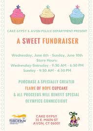2018 Cupcake Fundraiser Flyer Get Directions