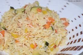cuisine avec du riz riz basmati aux légumes maman ça déborde