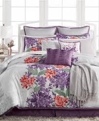 Vera Bradley Bedding Comforters by Purple Bed In A Bag And Comforter Sets Queen King U0026 More Macy U0027s
