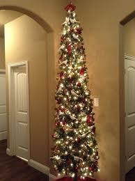 Slim Pre Lit Christmas Trees by Slim Pre Lit Christmas Trees Clearance Christmas Decor Ideas