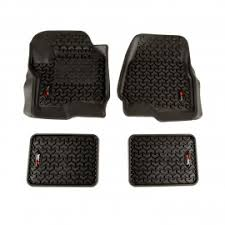 Rugged Ridge Floor Liners by Floor Liners Mats U0026 Cargo Liners For Ford By Rugged Ridge