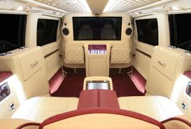 Ready To Ride Leather Interiors 42 Inch Television Screen And Refrigeration Units