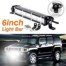 6inch Flood/ Spot Beam Led Work Light Bars Driving Lamp For Off Road ... Hero Kc Mracks Hilites Gravity Led Pro6 Modular Expandable And Adjustable Zroadz Toyota Tacoma 2016 Rear Bumper Mounts For Two 6 Light Great Whites Lights Trucks 4wds Cars To Fit 10 16 Vw Amarok Roll Bar Bars Beacon Tonneau Smittybilt Defender Roof Rack And Offroad Install Photo Illumating The Road Ahead Roundup Diesel Tech Magazine Rigid Industries Sr2series Pro White Driving 906613 Runner Mount Mounting Nfab