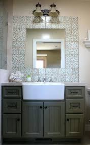 bathrooms design inch farm sink double farmhouse fireclay