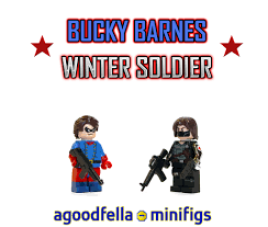 Bucky Barnes MOC COMICS Winter Soldier CUSTOM MCU