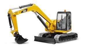 BRUDER TOYS CAT Mini Excavator Vehicle - $43.38 | PicClick