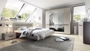 schlafzimmer hektor sonoma dunkel sand grau hochglanz