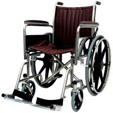 100 Rocking Chair Wheelchair 18 Wide NonMagnetic Fixed Footrest WCM1825FF27