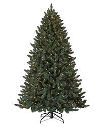 75 Flocked Christmas Tree by Prelit Artificial Christmas Trees With Clear Lights Treetopia