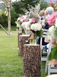 Natural Or Rustic Wedding Aisle Designs Plus 69 Outdoor Ideas