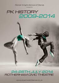Poster Design By ElYJan For Dance School Theatre Show History