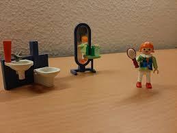 playmobil badezimmer einrichtung haus frau waschbecken spiegel
