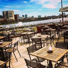 Hyatt Harborside Grill And Patio by Haute Top 5 Best Waterfront Dining In Boston 2017