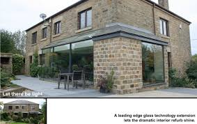 100 Glass Extention Let There Be Light Structural Glass Extension Internal View Of