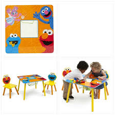 SESAME STREET TODDLER Table And Chair Set Storage Learning Desk Kids  Furniture Toddler Table Chairs Set Peppa Pig Wooden Fniture W Builtin Storage 3piece Disney Minnie Mouse And What Fun Top Big Red Warehouse Build Learn Neighborhood Mega Bloks Sesame Street Cookie Monster Cot Quilt White Bedroom House Delta Ottoman Organizer 250 In X 170 310 Bird Lifesize Officially Licensed Removable Wall Decal Outdoor Joss Main Cool Baby Character 20 Inspirational Design For Elmo Chair With Extremely Rare Activity 2