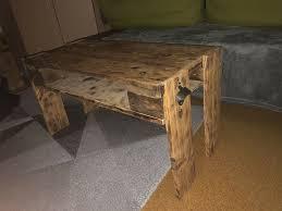 couchtisch tisch paletten holz möbel wohnzimmer