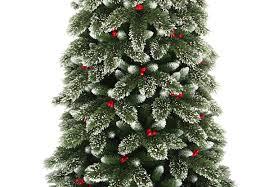 75 Ft Slim Christmas Tree by 7 5ft Snowy Westbury Pine Slim Artificial Christmas Tree Hayes
