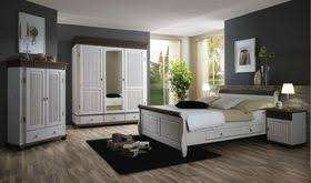 massivholz schlafzimmer set 5teilig komplett kiefer massiv weiß kolonial